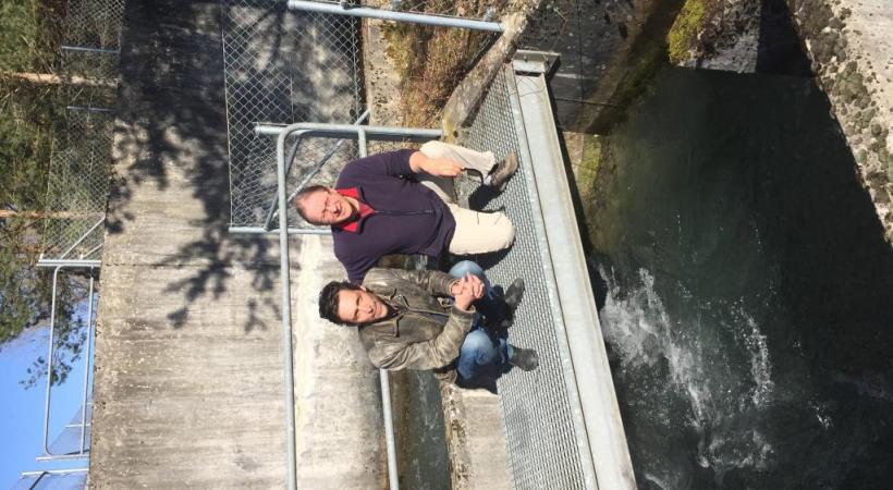 L'ouverture des vannes du barrage du Seujet est au centre de la polémique.  Les lâchers d'eau massifs sont en effet mortels pour la faune piscicole. SIG/DR