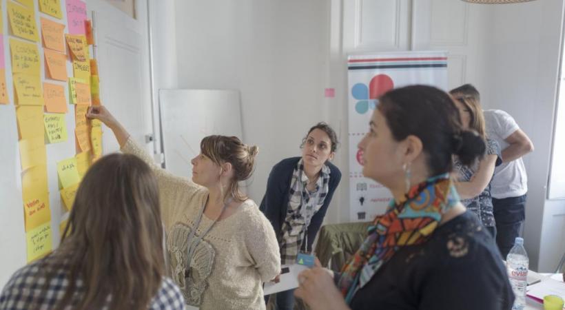 Des ateliers pour échanger des idées et faire bouger les choses.