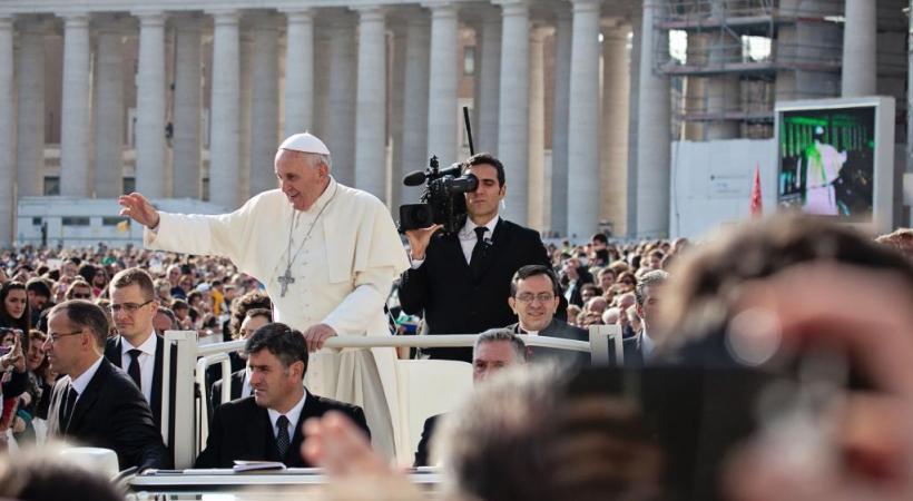 Le pape terminera sa visite par une messe  à Palexpo. 123RF/BIRUTE VIJEIKIENE