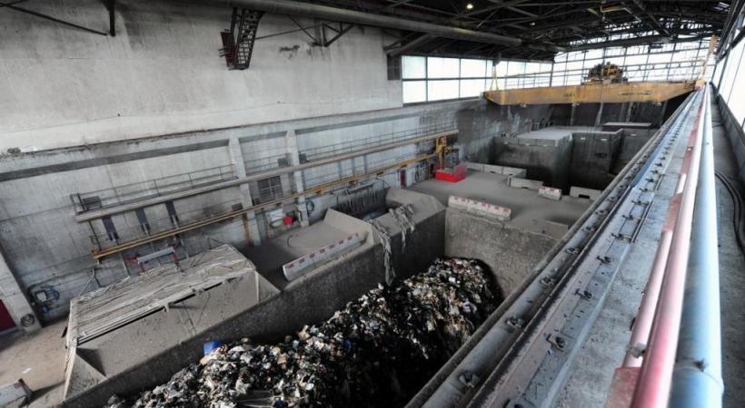 Les mâchefers sont les résidus solides issus de l'incinération des ordures ménagères. DR