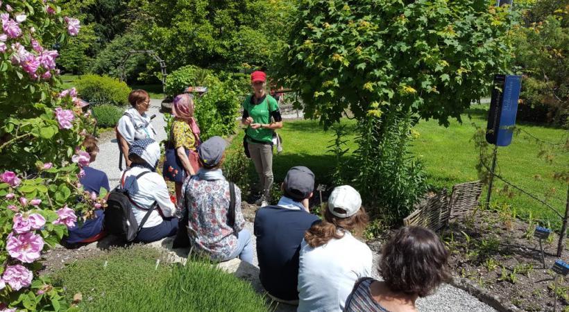 un spcialiste aborde une thmatique diffrente chaque semaine cjb genve - Jardin Botanique Geneve
