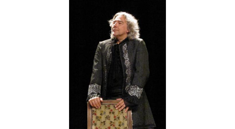 Le metteur en scène et acteur Alain Carré a repris les rênes du festival. DR