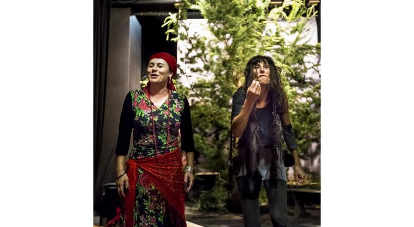 Maruska et Figa, deux femmes que tout oppose. DR
