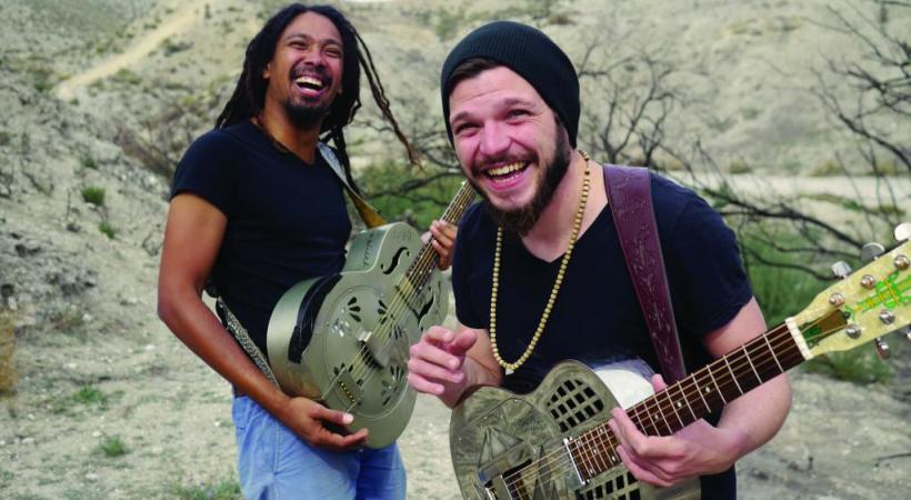 La passion du blues a réuni les deux musiciens de The Two. DR