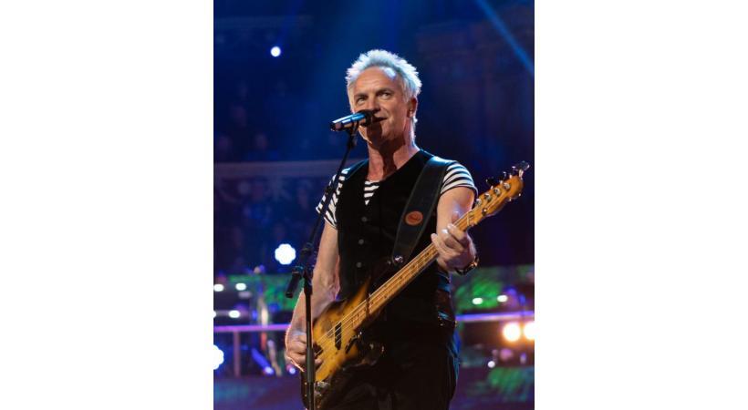 Artiste internationalement reconnu, Sting sera présent le dimanche 22 juillet. DR