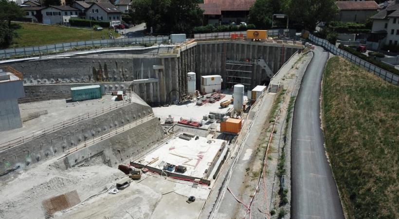 Le coût total du projet principal est estimé à environ 171 millions de francs. DR