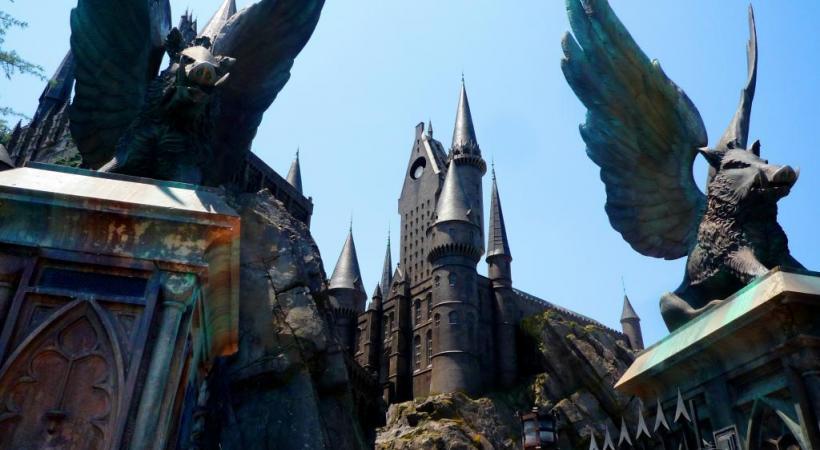 Le château de Potter a de quoi rivaliser avec celui de Disneyland