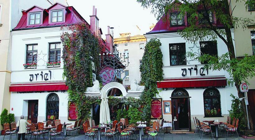 Le vieux quartier juif de Kazimierz est devenu un lieu branché de la ville.