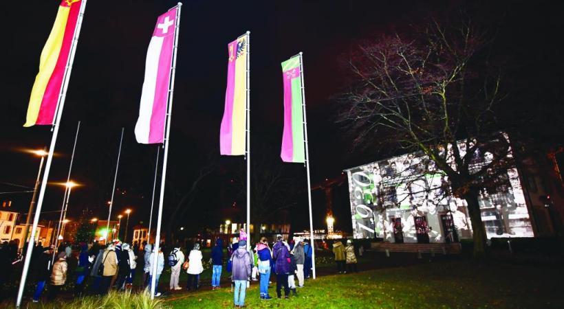 Initié en 2017, l'événement met en lumière le patrimoine de la commune. ALAIN GROSCLAUDE