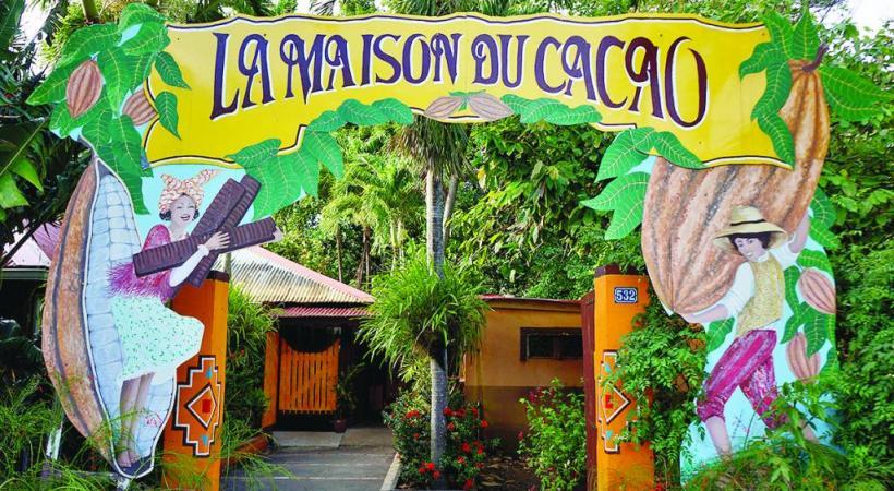 La Maison du cacao est un must touristique à la Guadeloupe.