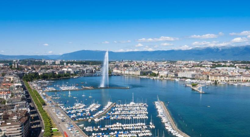Un qualité de vie précieuse à Genève, ville à taille humaine. 123RF/SAM74100