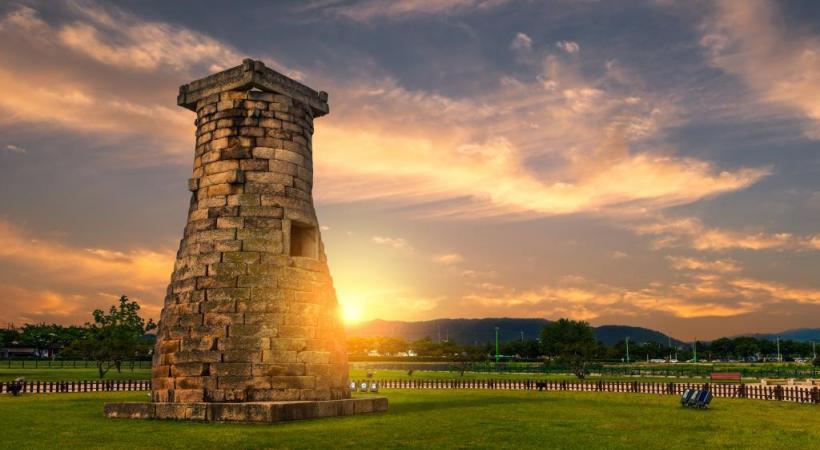 L'observatoire de Cheomseongdae, un trésor national, qui remonte au VIIe siècle. 123rf/ vincentstthomas