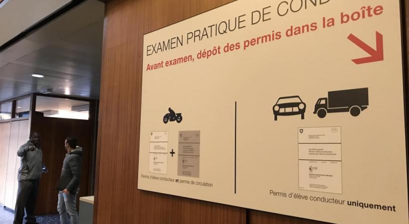 Les nouveaux conducteurs paieront 90 francs le permis d'élève et le permis de conduire