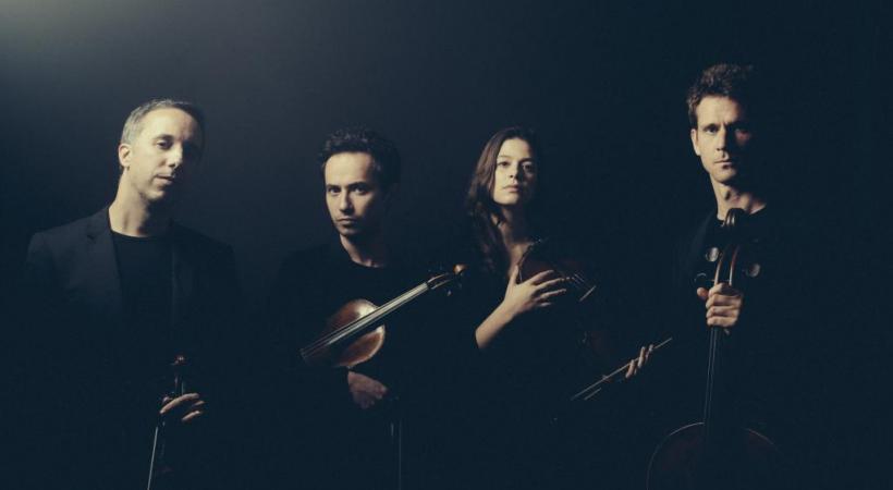 Le Quatuor Ebène. DR