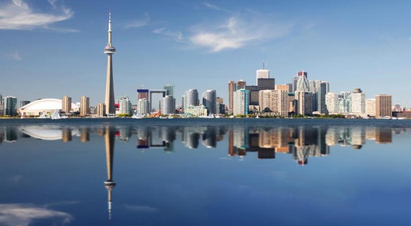 Toronto est la capitale de la province de l'Ontario. istock