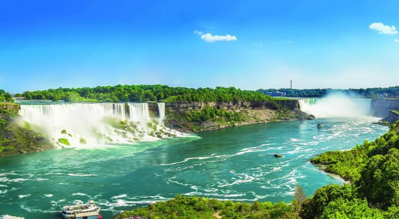 Les chutes du Niagara, côté canadien, un des plus impressionnants spectacles naturels qui soit. ISTOCK