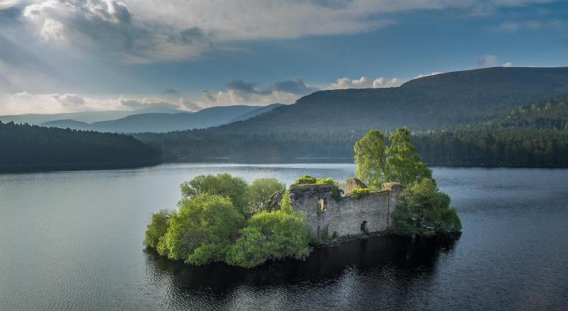 L'impressionnant château de Forth Valley