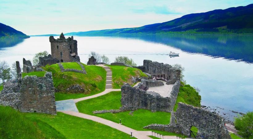 Les vastes campagnes écossaises s'avèrent propices au trekking