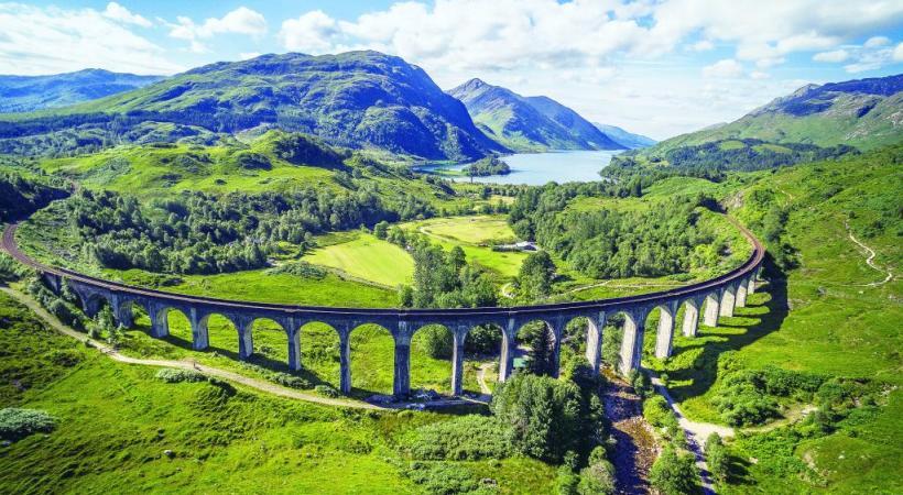 Certains tracés ferroviaires écossais peuvent rappeler la Suisse.