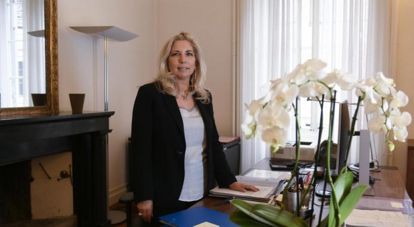 Nathalie Fontanet: une ministre qui sait garder son calme. CHRISTIAN BONZON