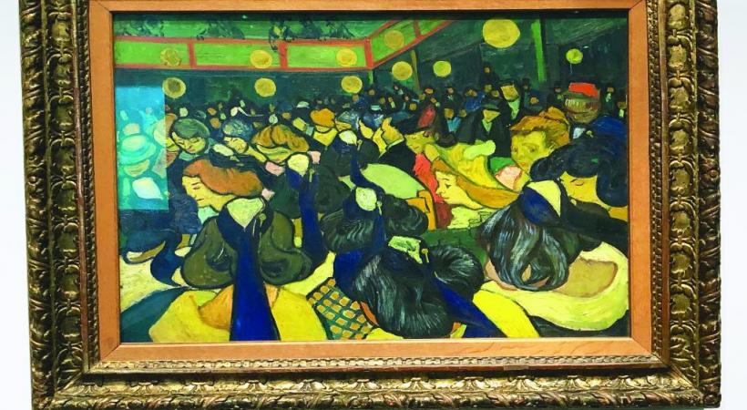 «Salle de danse à Arles» (1888), De Vincent Van Gogh: