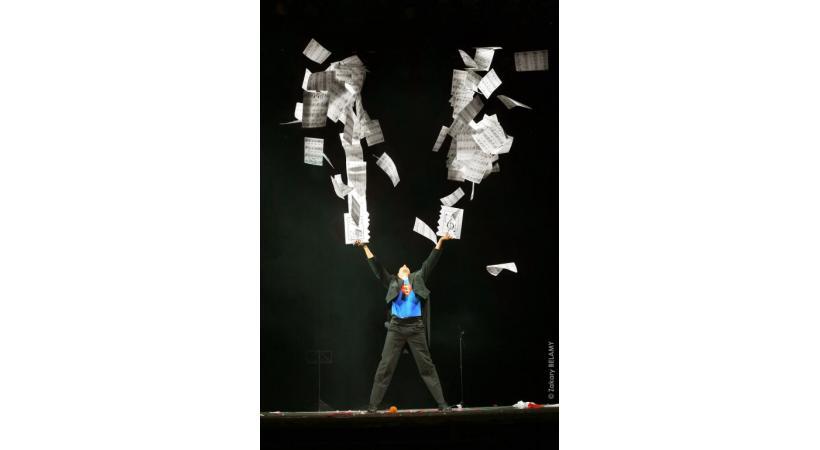 Le magicien François Normag. Le but premier de la magie? Laisser le spectateur dans l'incompréhension. DR