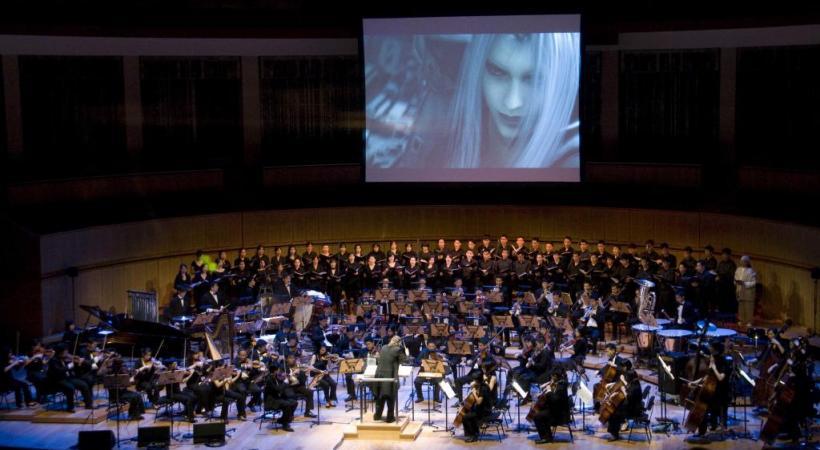 Le concert événement s'adresse d'abord aux «gamers», mais aussi aux mélomanes sans manette. DR