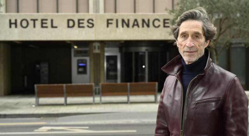 Gérard Jolimay est à la tête du collectif genevois en faveur d'une micro-taxe. CHRISTIAN BONZON