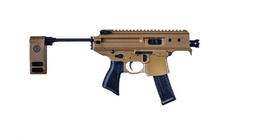 Le pistolet-mitrailleur SIG MPX 9mm. POLICE DE GENÈVE