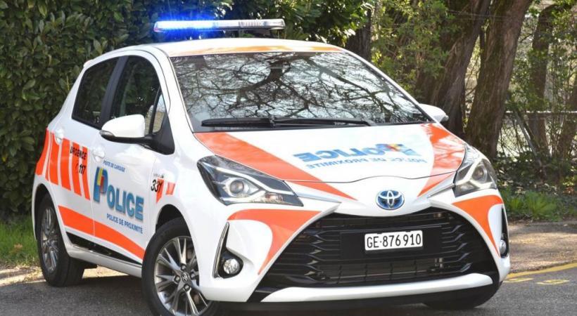 Des Toyota remplaceront les Smart. POLICE DE GENÈVE