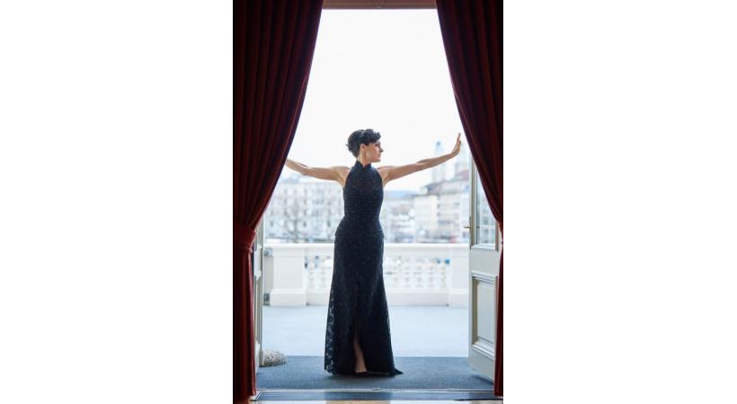 La soprano suisse Rachel Harnisch. RENÉ-RUIS OPERNHAUS