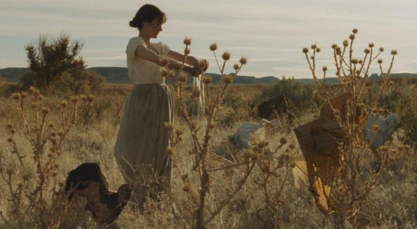 Le western «Meek's Cutoff» met en scène trois familles à l'époque des pionniers. DR