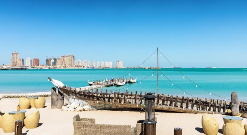 La plage de Katara, au nord de la ville. 123RF/SVEN HANSCHE