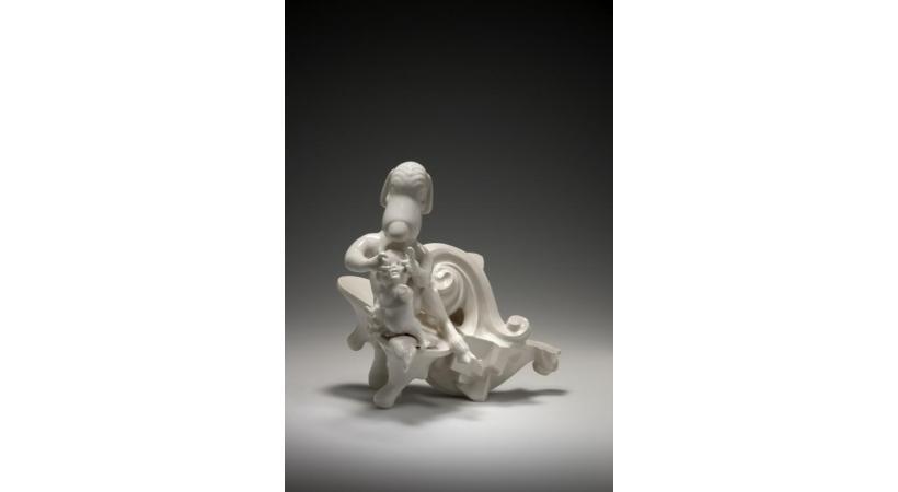 «Protection» est une porcelaine moulée réalisée par Louise Hindsgavl en 2009. MUSéE ARIANA/NATHALIE SABATO