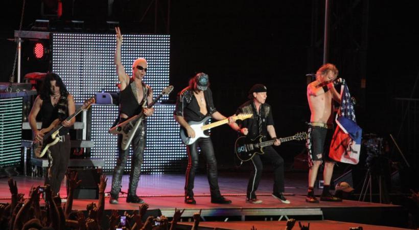 Le groupe Scorpions, aux 100 millions d'albums vendus, célèbrera son demi-siècle (déjà!) à Avenches. DR