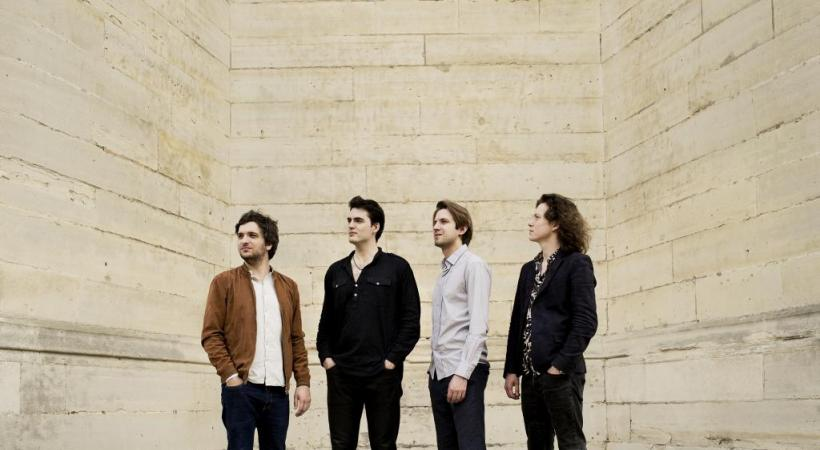 Le Trio Messiaen, avec le clarinettiste Raphaël Sévère (2e depuis la gauche), se produit dans