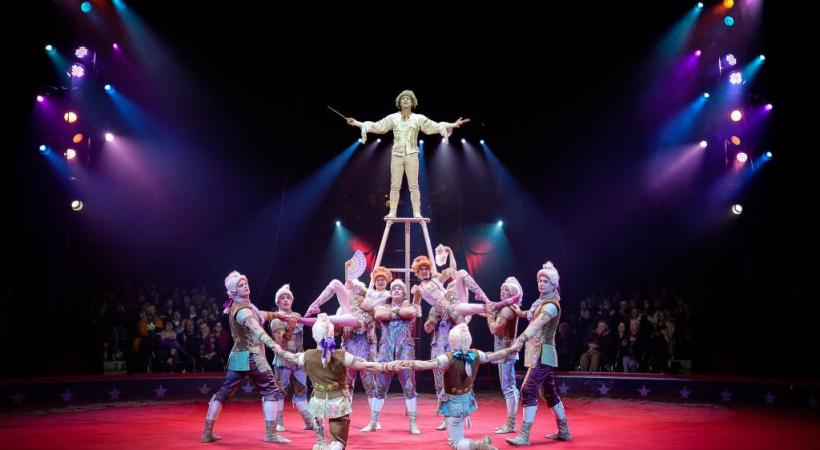 Les acrobates de la troupe Sokolov devraient envoyer le public du cirque national suisse au septième ciel. DR