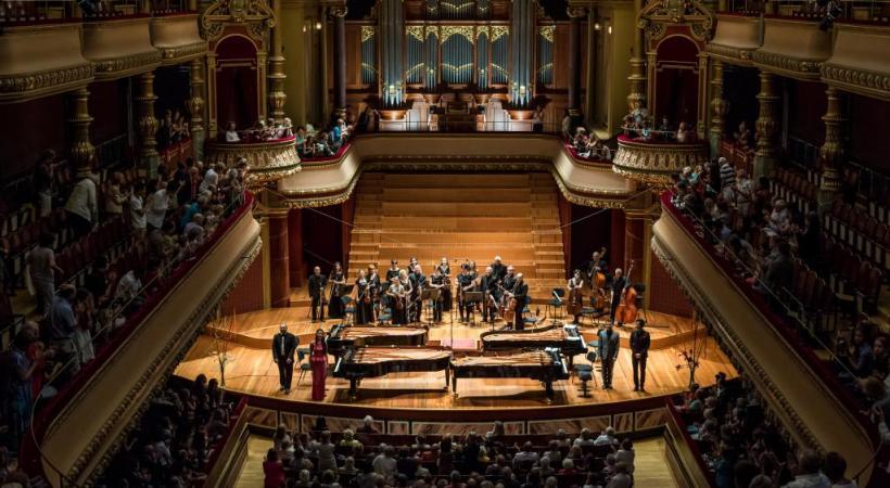 La soirée du dimanche 1er septembre au Victoria Hall s'annonce sublime. ELIYAH REICHEN