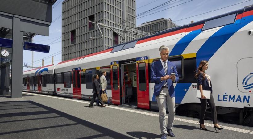 Le Léman Express et ses gares (ici celle de Lancy Pont-Rouge) n'auront plus aucun secret  pour ses futurs usagers. CFF