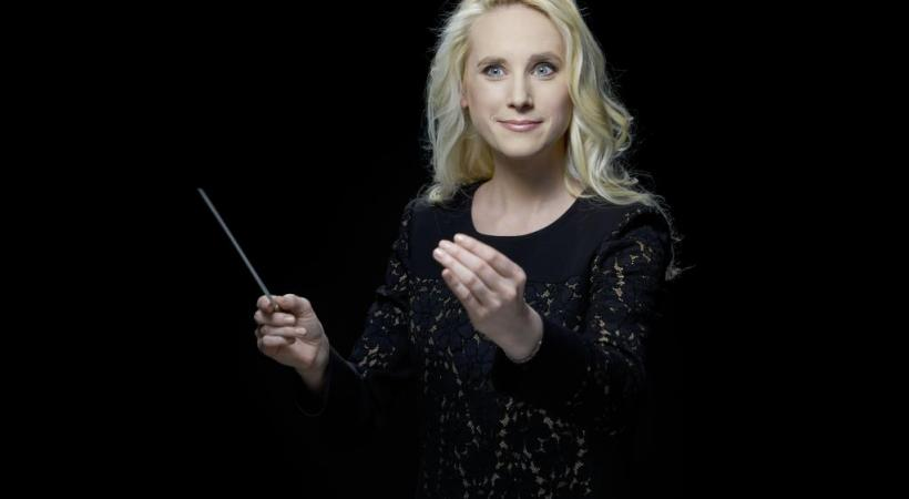 Lena-Lisa Wüstendörfer dirigera le Swiss Orchestra lors de ces «Trouvailles symphoniques». DOMINIK BUETTNER