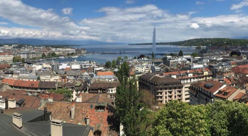 Genève a besoin de densité, mais aussi de verdure. FRANCIS HALLER