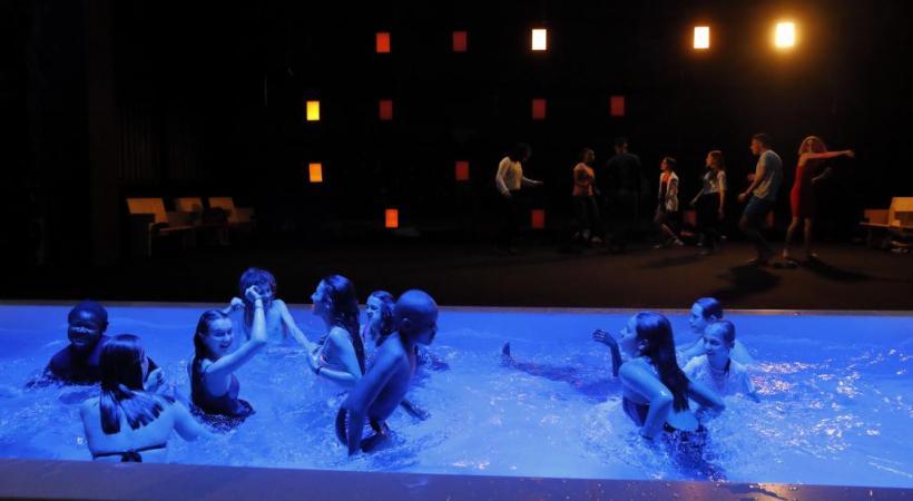«Les Sonnets» de Shakespeare seront joués par 24 jeunes amateurs. BRUNO LEVY