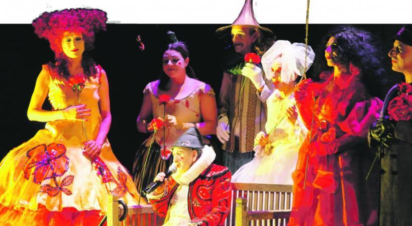 Le spectacle «La Gioia» (la joie) est présenté en italien, mais surtitré en français. LUCA DEL PIA