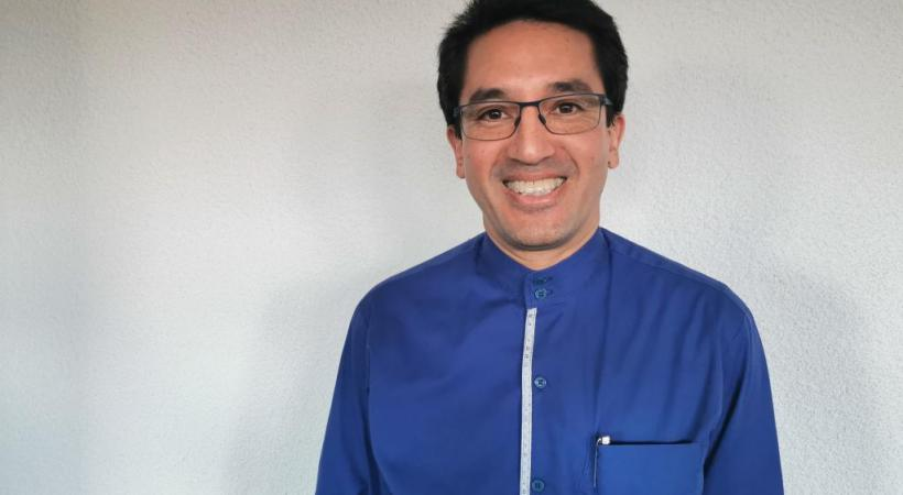 Alain Burri (en médaillon)  DR/MP