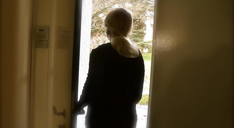 Sylvie, victime des faux policier et faux plombier, a vécu un vrai cauchemar. STéPHANE CHOLLET