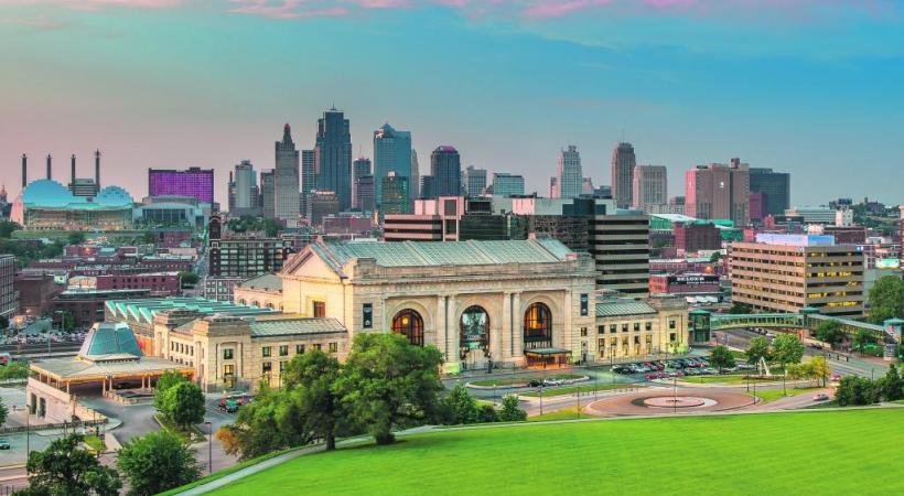 La grande ville et son célèbre panorama urbain sur Union Station. DAVID ARBOGAST