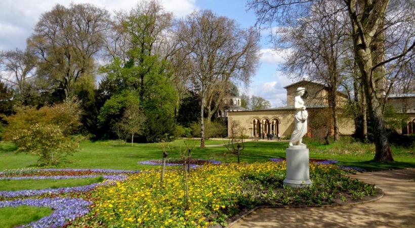 Potsdam s'enorgueillit de nombreux jardins romantiques.