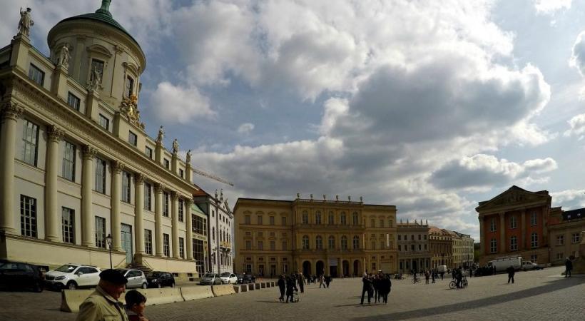 Potsdam a fait l'objet d'une spectaculaire restauration.