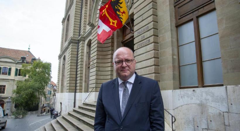Le procureur général Olivier Jornot est candidat au poste de procureur de la Confédération.