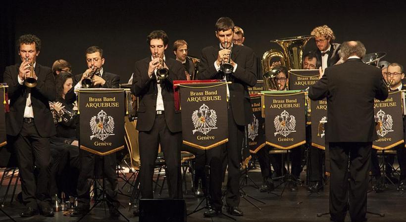 Le Brass Band Arquebuse jouera en faveut des enfants atteints de noma.